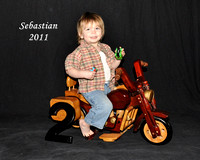 motorcycle w clothes  8x10